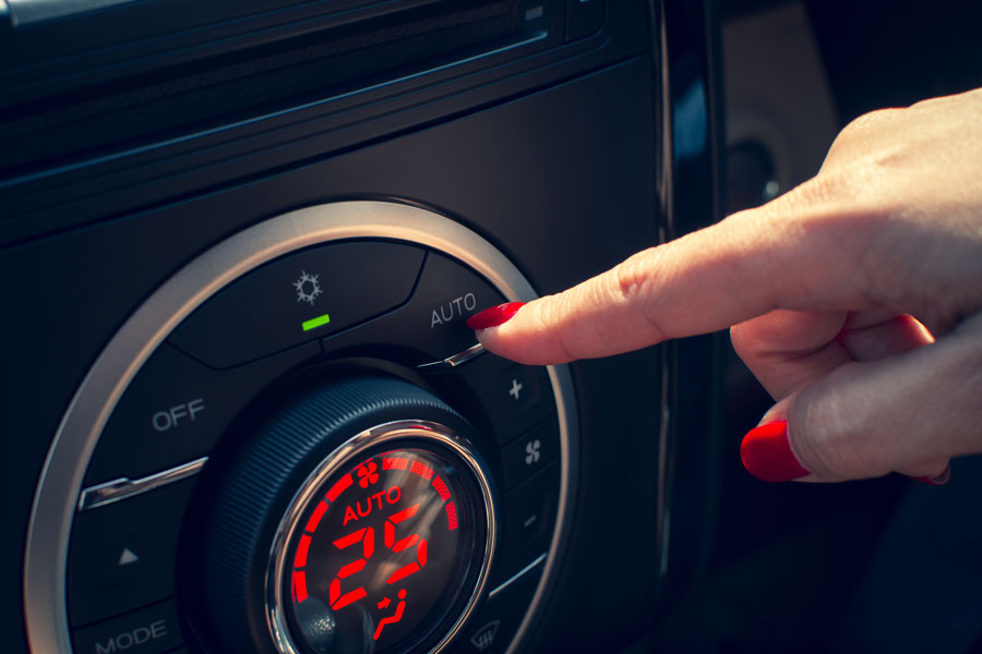 foto climatizzatore auto
